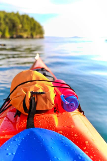 Kayaking in the San Juans by Lisette Wolter McKinley