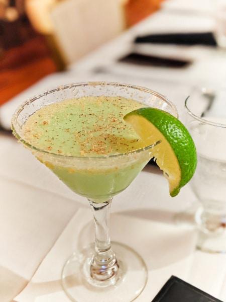 Key Lime Pie Martini at LLs Test Kitchen Key West Florida Keys 2020 2