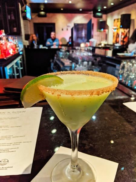 Key Lime Pie Martini at Tavern N Town Key West Florida Keys 2020 2