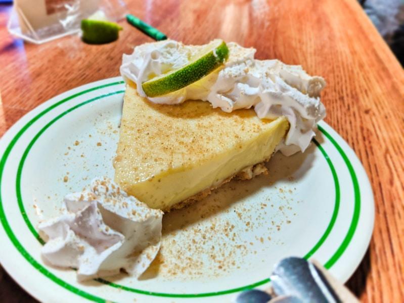 Key Lime Pie at Half Shell Raw Bar Key West Florida Keys 2020 2