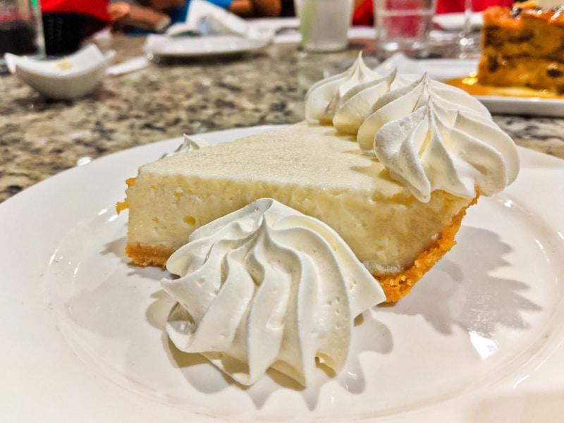Key Lime Pie at Lighthouse Grille Faro Blanco Marathon Key Florida Keys 2020 1