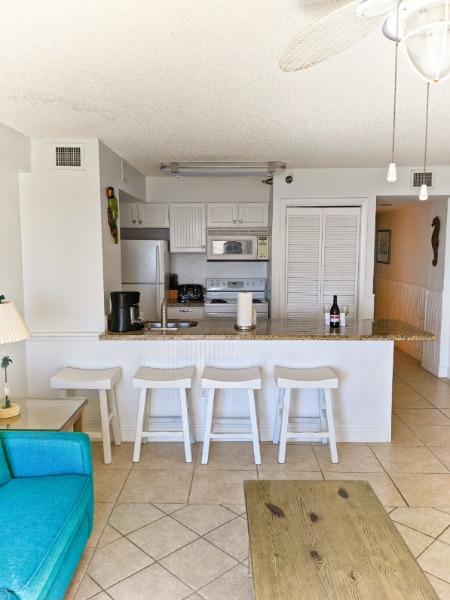 Kitchen at Ocean Pointe Resort Key Largo Florida Keys 2020 2