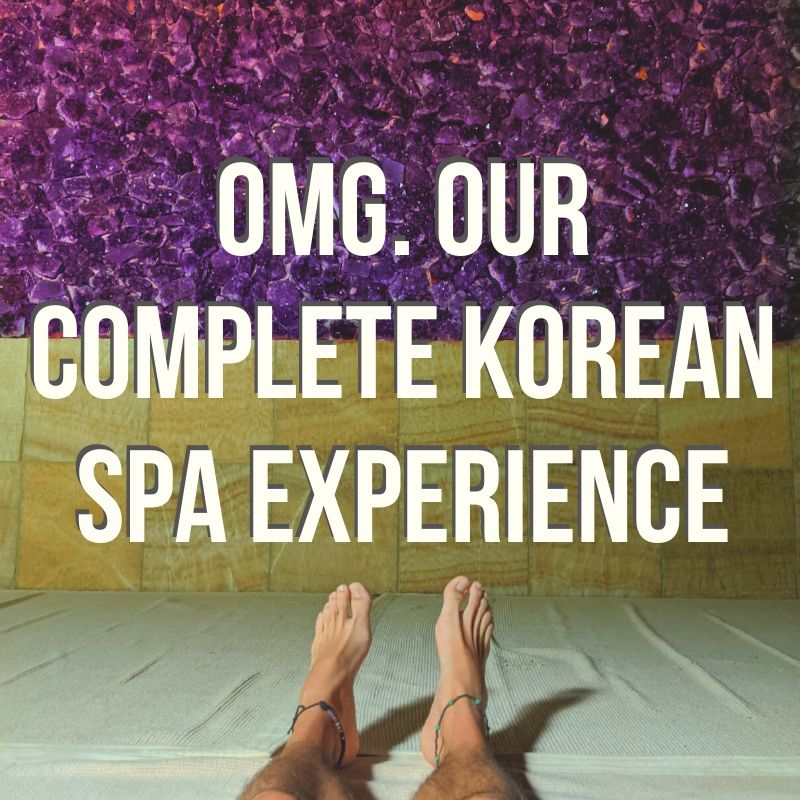 We went all in and did the full Korean Spa experience. We talk about our favorite spa experiences we've had in our travels and what we expect... and then what the Korean Spa was really like. Hint: it was shocking and there were some amazing aspects.