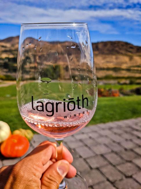 Lagrioth Wine Tasting at Chelan Valley Farms Manson Lake Chelan Washington 2