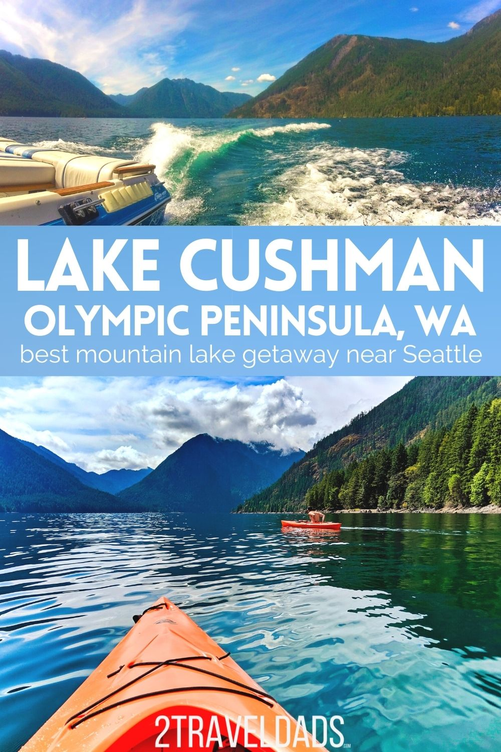 Lake Cushman on the Olympic Peninsula is basically the Tahoe of the noth: warm water, beautiful setting, and so much family fun! Everything you need to know from best things to do at Lake Cushman to camping and vacation rentals near the lake.