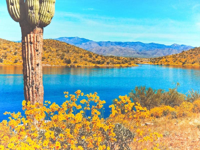 Lake Pleasant Peoria Arizona