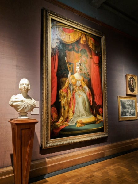 Large Painting of Queen Victoria National Portrait Gallery London 1