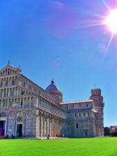 Leaning Tower of Pisa and Santa Maria Assunta Pisa Italy 2