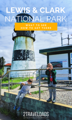 Lewis and Clark National Park, located in Oregon and Washington is great for hiking, lighthouses, and family vacation fun. History and nature make this a fun Oregon Coast National Park with kids.