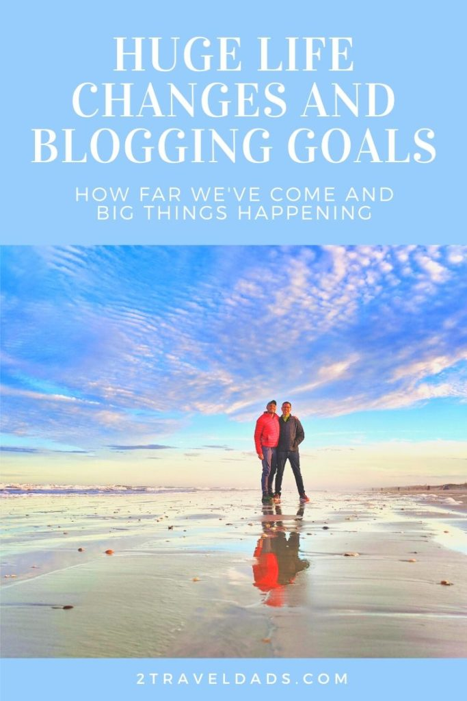 Working hard and planning brings big blogging goals to life. We've lined everything up and now HUGE life changes are happening! #goals #blogging