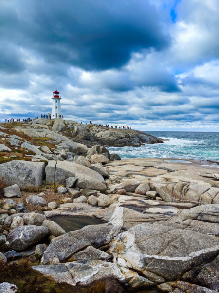 Lighthouse at Peggys Cove Nova Scotia 2