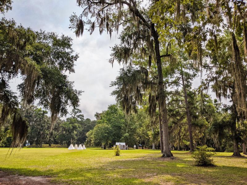 Living History Reenactment at Fort Morris Historic Site Coastal Georgia 1