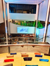 Lounge steps lobby of EVEN Hotels Times Square South New York City 1