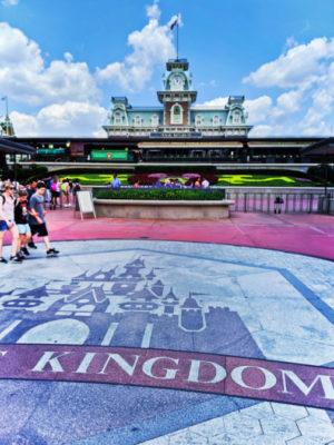 Main Street Station at Magic Kingdom Disney World Orlando Florida 2