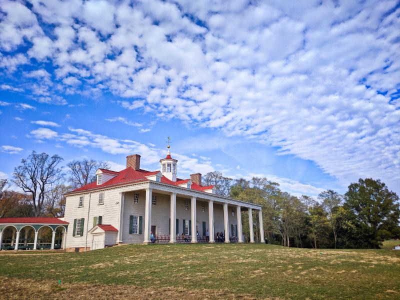 Mansion at George Washingtons House Mount Vernon Virginia 4