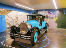 Marcie in Mommyland Classic-car-in-Family-Zone-at-LeMay-Americas-Car-Museum