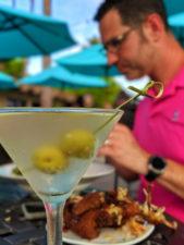 Martini at Blue Wave Restaurant Best Western Island Palms Hotel San Diego California 1