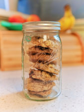 Mason Jar with Cookies Glass food storage containers 2