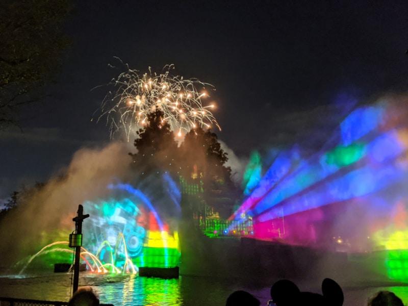 Mickey's Mix Magic Fireworks ad Disneyland 2020 1