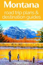 Montana is an incredible road trip destination and ideal place for hiking. Between State and National Parks, cool towns and beautiful fall colors, Montana adventures are endless.