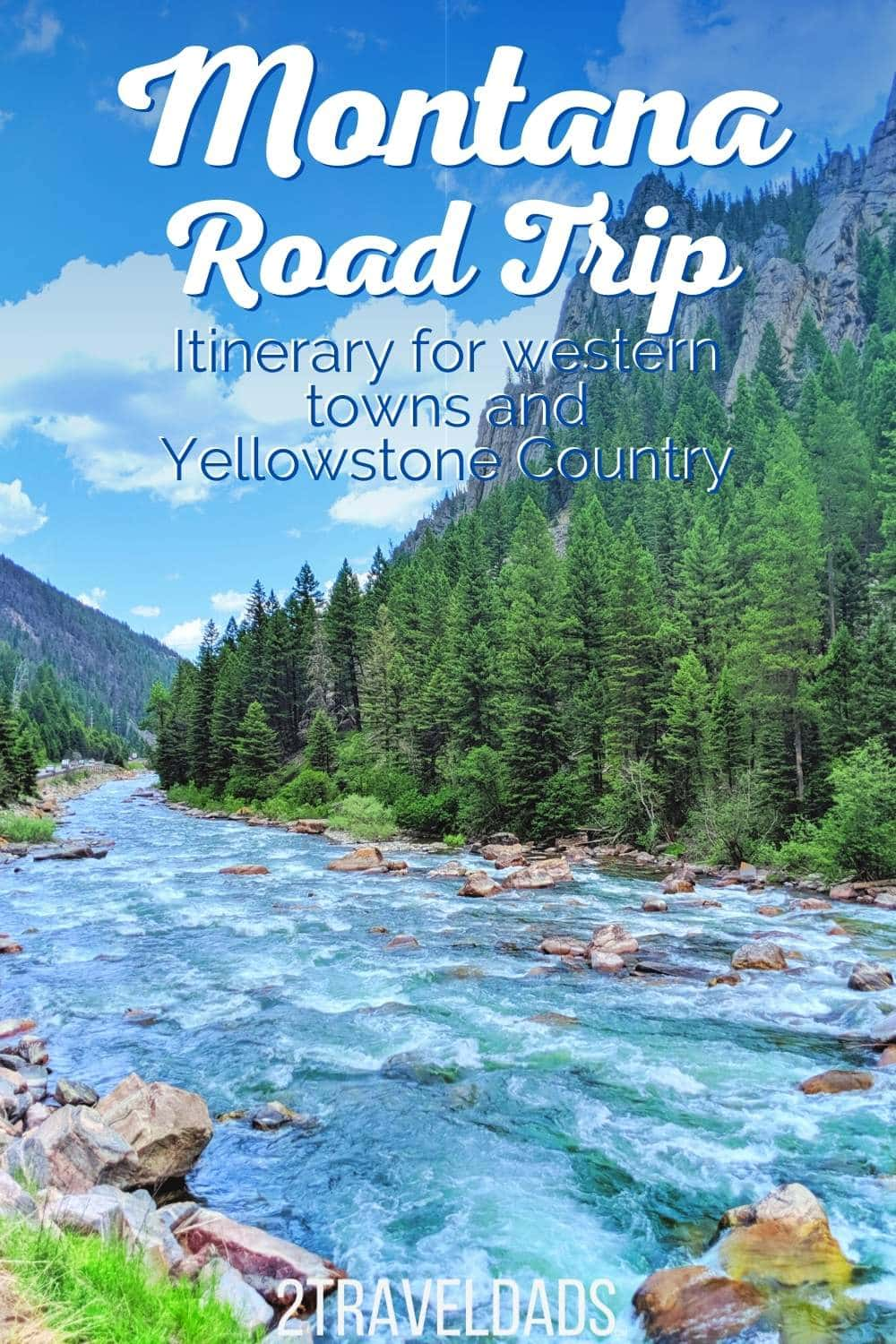 Montana Road Trip - Western Towns and Yellowstone Country