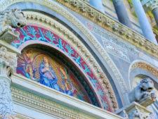 Mosaics at Santa Maria Assunta at the Field of Miracles Pisa Italy 2