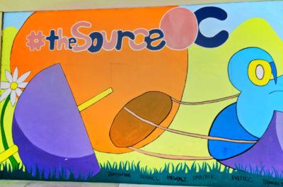 Mural in The Source OC Buena Park California 1