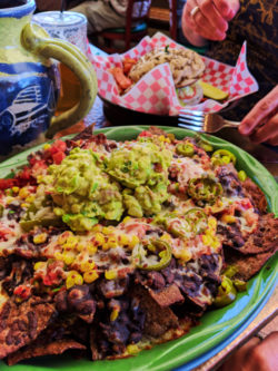 Nachos at Oscars Mexican restaurant Springdale Utah 1