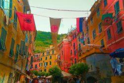 Narrow Street in Manarola Cinque Terre Italy 2e