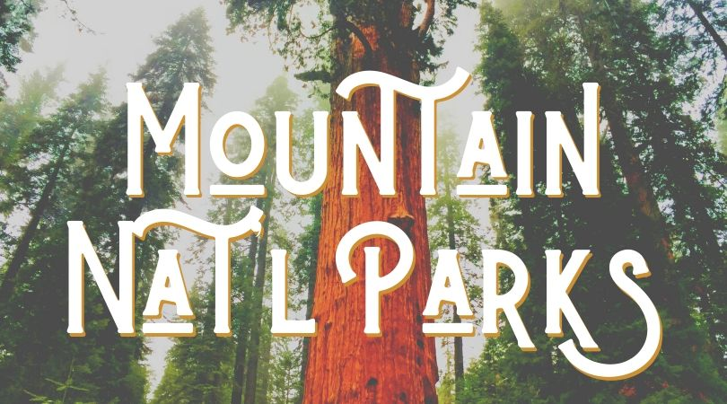This road trip through the mountain National Parks covers everything from Sequoia NP to Olympic NP. Perfect family road trip.