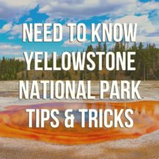 Podcast episode covering the best need-to-know Yellowstone National Park tips.From where to camp to where to stay outside of the park, favorite sights and things to watch for, the basics of having an awesome trip, and some of our favorite stories through the years. #Yellowstone #NationalPark #Wyoming