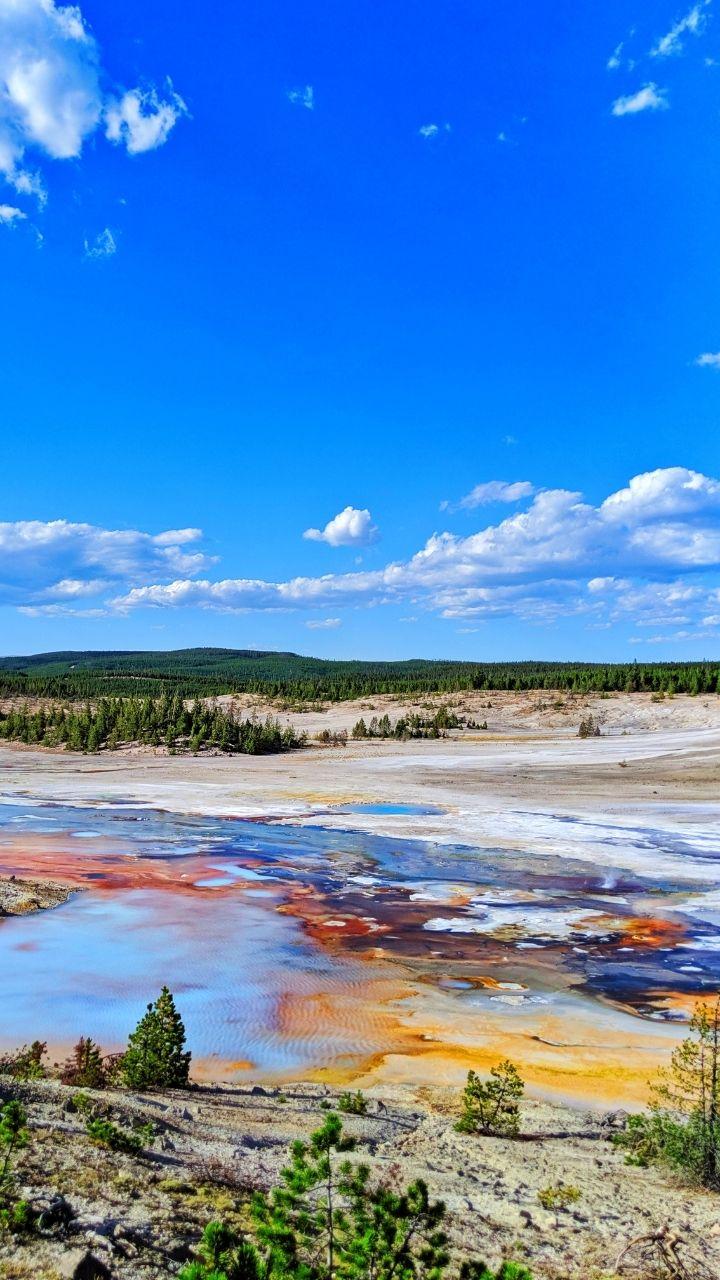Norris Geyser Basin, 2 Days in Yellowstone Itinerary