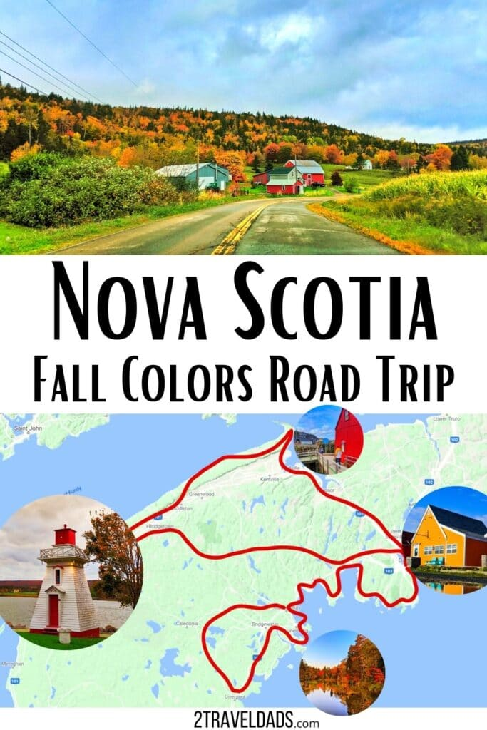 Fall Colors in Nova Scotia are incredible. This four day itinerary covers Halifax, the Lighthouse Route, the Bay of Fundy and more. Best things to do in Nova Scotia.a