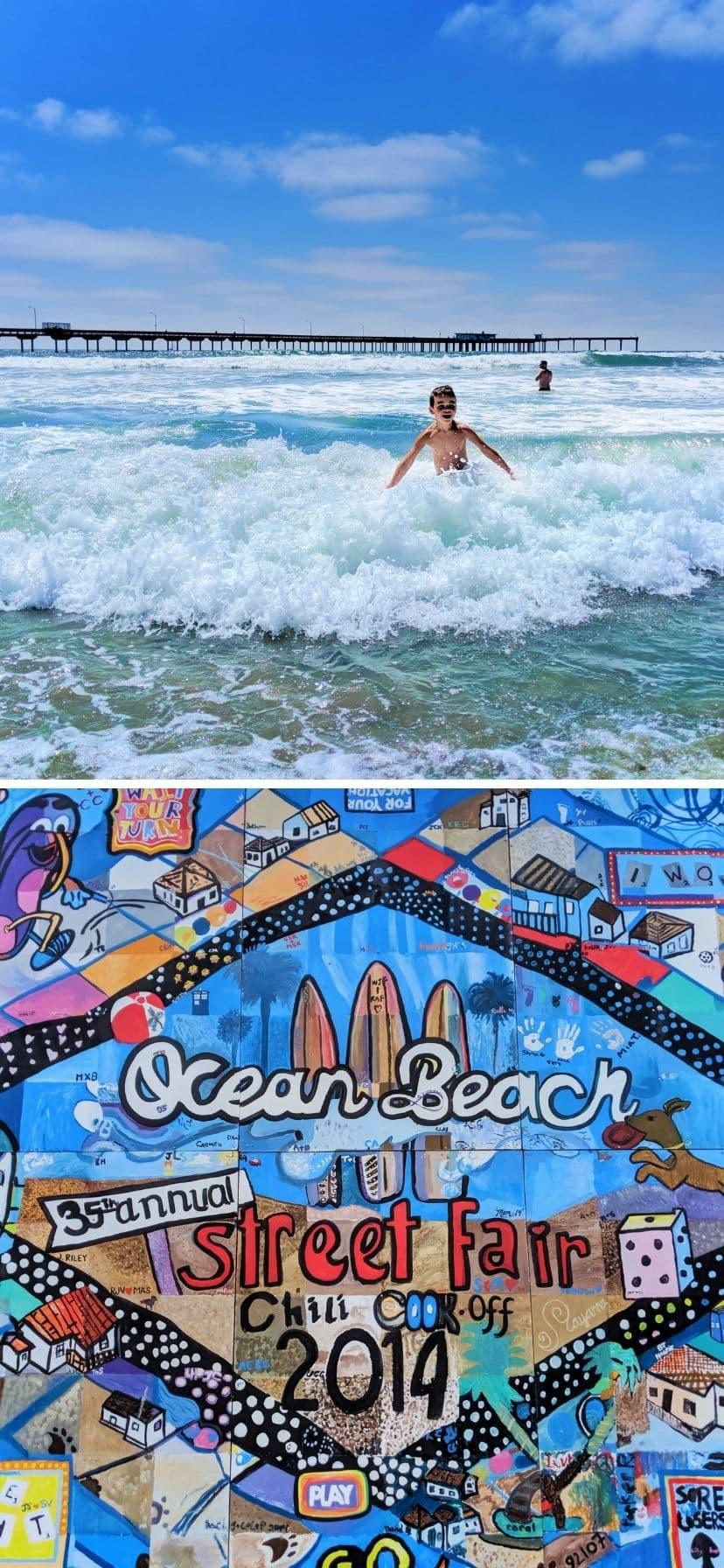 Ocean Beach San Diego California Coast Road Trip