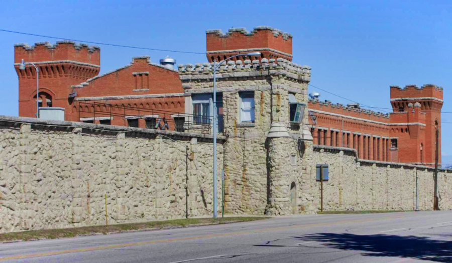 Old Montana State Prison Museum Deer Lodge Montana 1