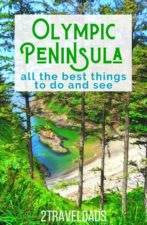 Remarkable things to do on the Olympic Peninsula, a bucket list of of the best activities and sights in Western Washington, including sites in Olympic National Park and Victorian towns.