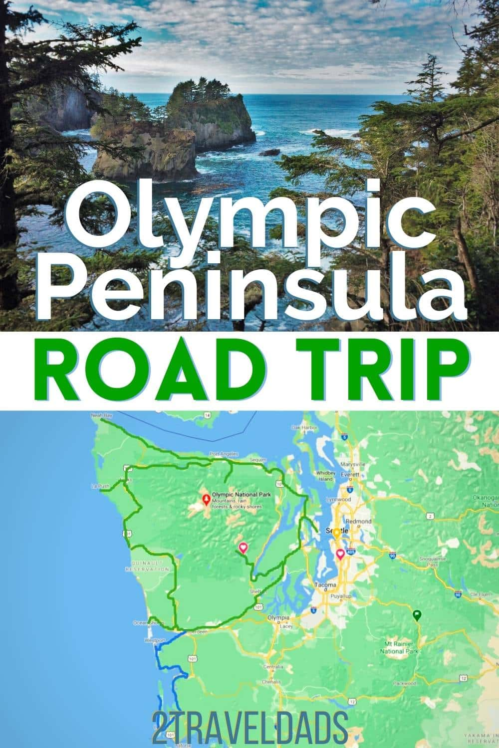 An Olympic Peninsula Road Trip is a great weekend getaway or local vacation near Seattle. See the best stops around Highway 101, waterfalls and hikes in Olympic National Park, beautiful small towns and the rugged Washington Coast. Perfect Pacific Northwest vacation itinerary.