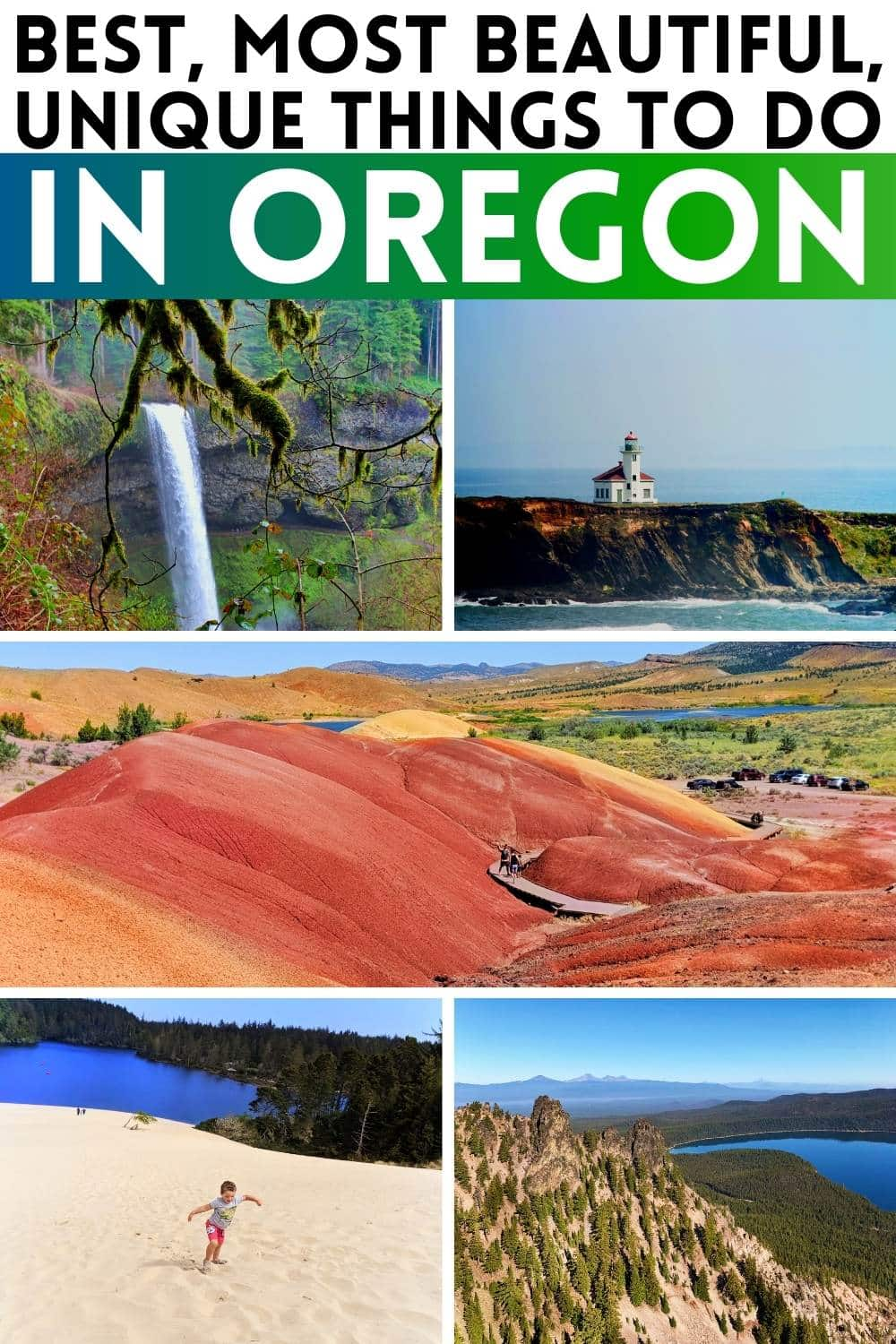 Adventures in Oregon are everywhere. These are the best, must see places, things to do, places to drive in Oregon and more.