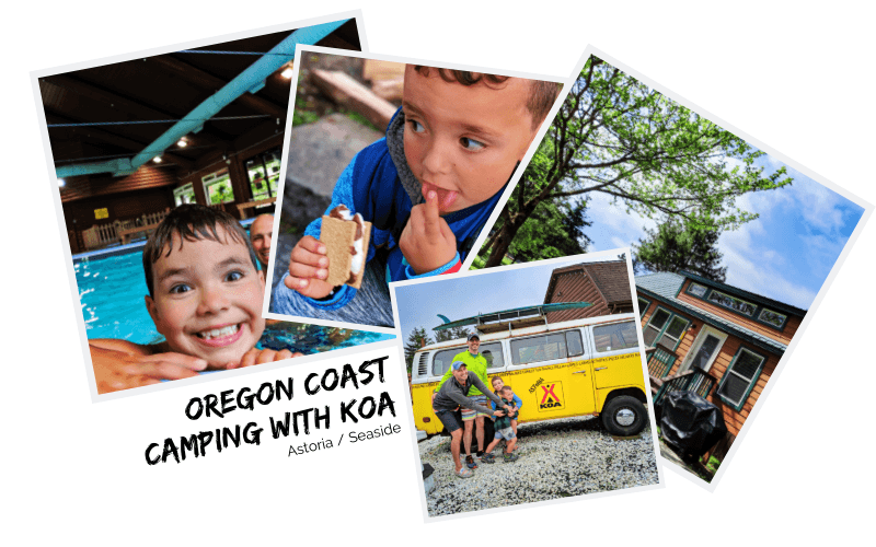Oregon Coast camping with KOA is the easiest, most relaxing getaway we've had in a long time. Camping near Seaside with beaches and hiking nearby, amenities on-site, and perfect Astoria itinerary.
