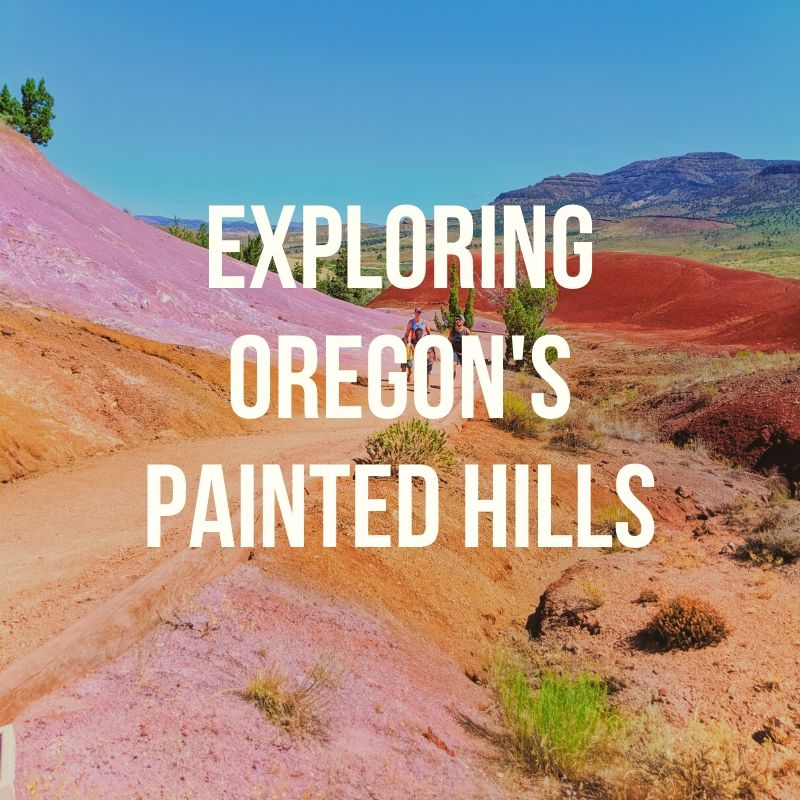 Podcast episode about exploring the Painted Hills of Central Oregon. A day trip from Bend or a weekend getaway, the views, the hiking and the geology make a unique National Park site and easy trip for any traveler.