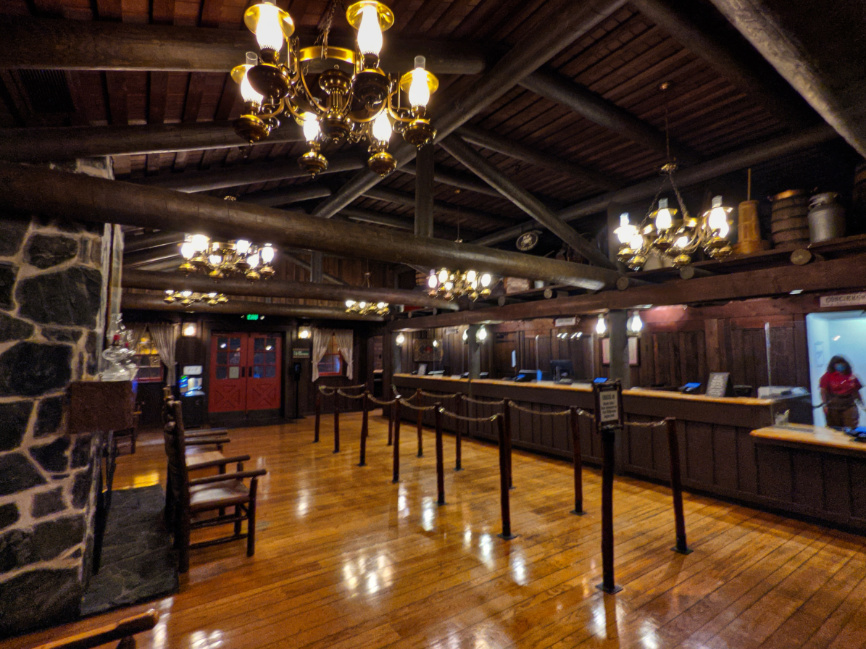 Outpost Lobby at Fort Wilderness Resort and Campground Disney World Orlando 4