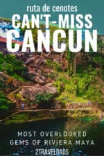 These are the best cenotes near Cancun and Tulum; swimming holes and cave exploring you HAVE TO add to your Mexico vacation. Incredible Yucatan experiences. #Mexico #Caribbean #Cancun #tropical