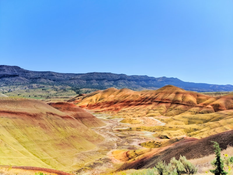 Painted Hills John Day Fossil Beds NM Oregon