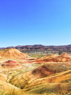Painted Hills John Day Fossil Beds NM Oregon 5b