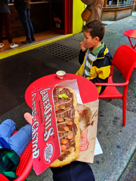 Peanut Butter Beavertails downtown Victoria BC 1