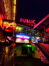 Pike Place Market Neon Signs at night Seattle 9