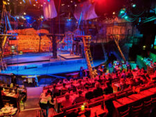 Pirate Ship stage at Pirate Dinner Adventure Buena Park California 2