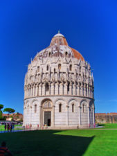 Pisa Baptistry at the Field of Miracles Pisa Italy 1