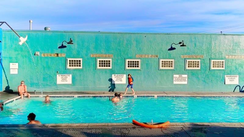 Pool at Carson Hot Springs Carson City Nevada 2020 2