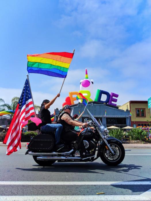 Pride Motorcycles at San Diego Pride Parade 2019 1